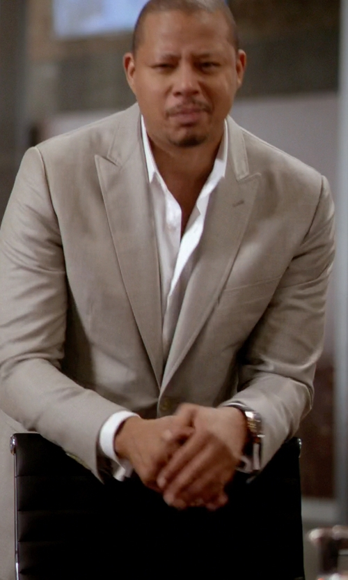 Terrence Howard  with Fashion Clinic Two piece suit in Empire
