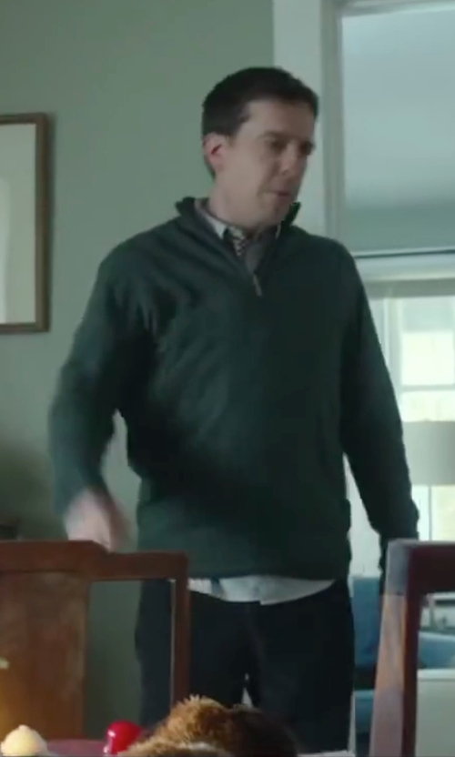 Ed Helms with Hudson Jeans Byron Straight Fit in Love the Coopers