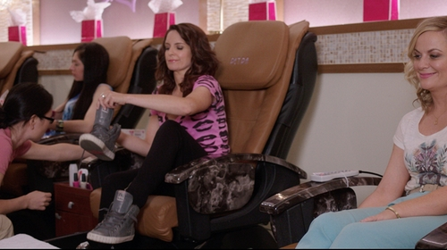 Tina Fey with Ash Gray High-Tops & Trainer Sneakers in Sisters