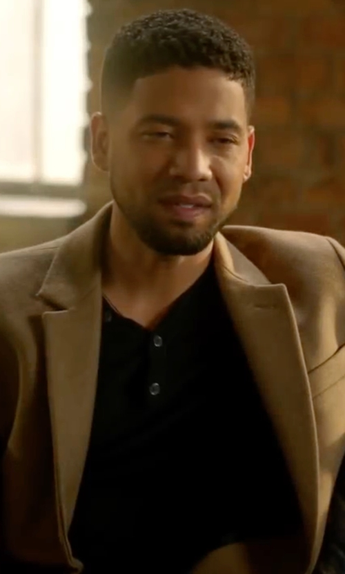 Jussie Smollett with Won Hundred Ludwig Overcoat in Empire