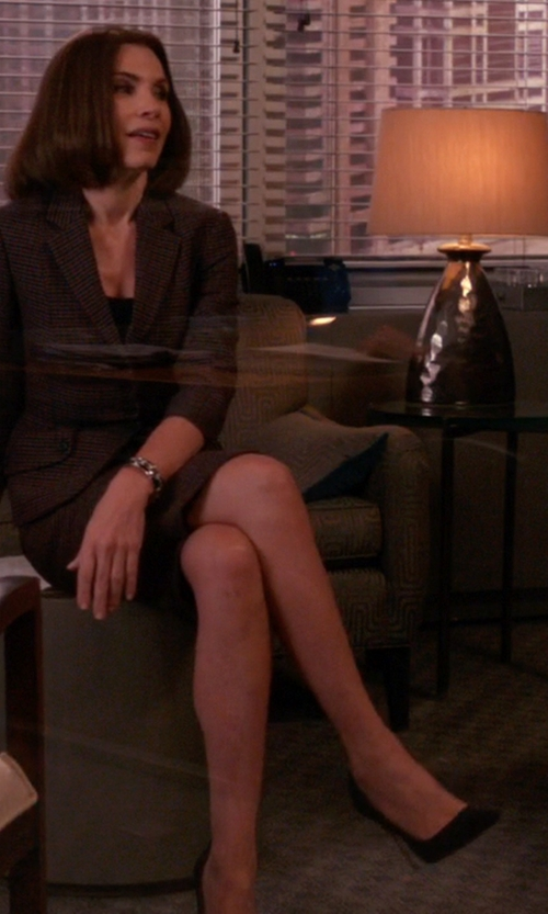 Julianna Margulies with Kate Spade New York Lola Dress Pumps in The Good Wife