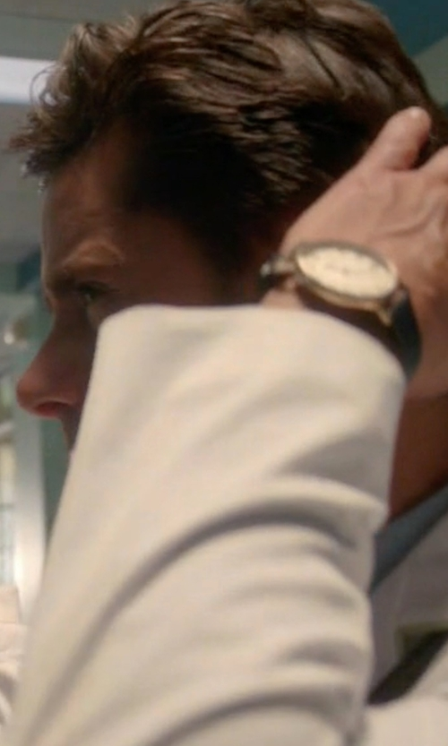 John Stamos with Daniel Wellington Sheffield Watch in Scream Queens
