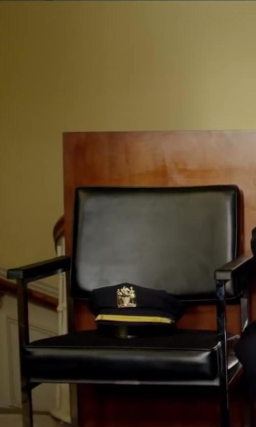 Paul Walker with Keystone Sentry Pershing Style Uniform Hat in Brick Mansions