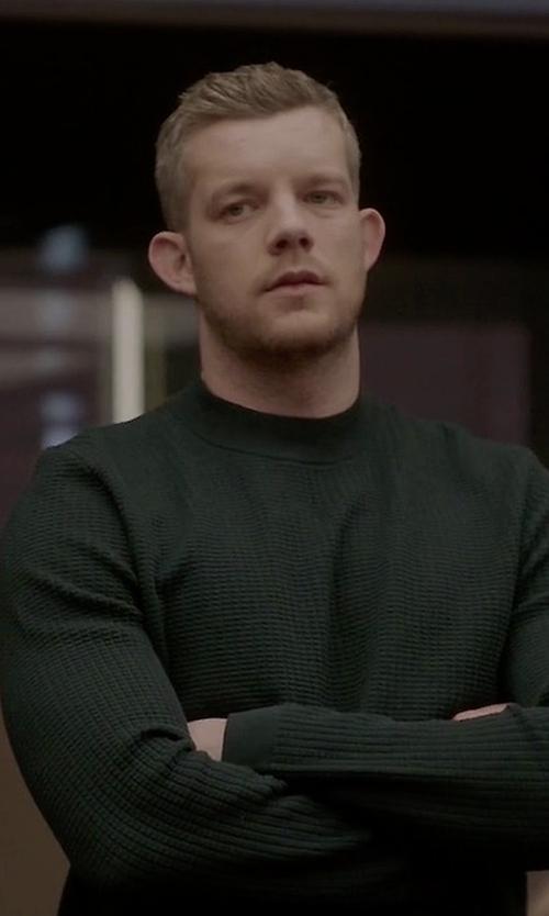 Russell Tovey with Deus Ex Machina Principal Sweater in Quantico