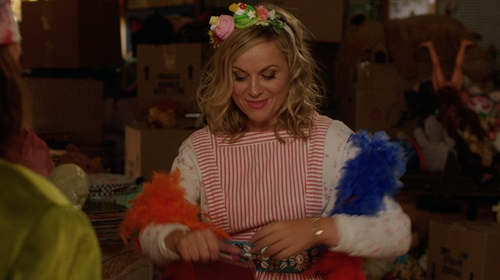 Amy Poehler with Medline Candystripe Jumper in Sisters