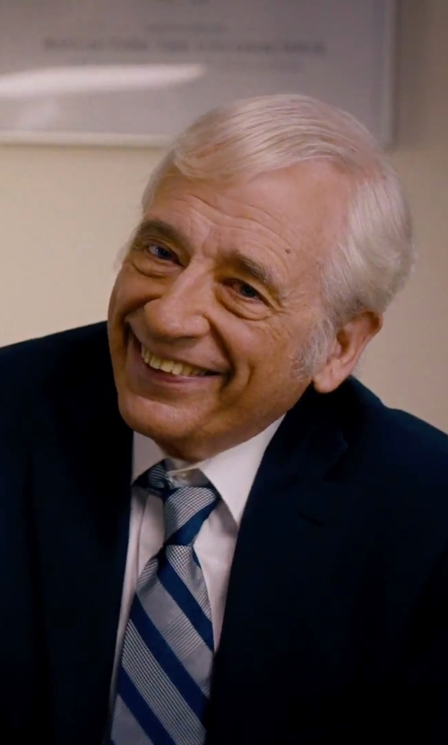 Austin Pendleton with Barneys New York Poplin Dress Shirt in She's Funny That Way