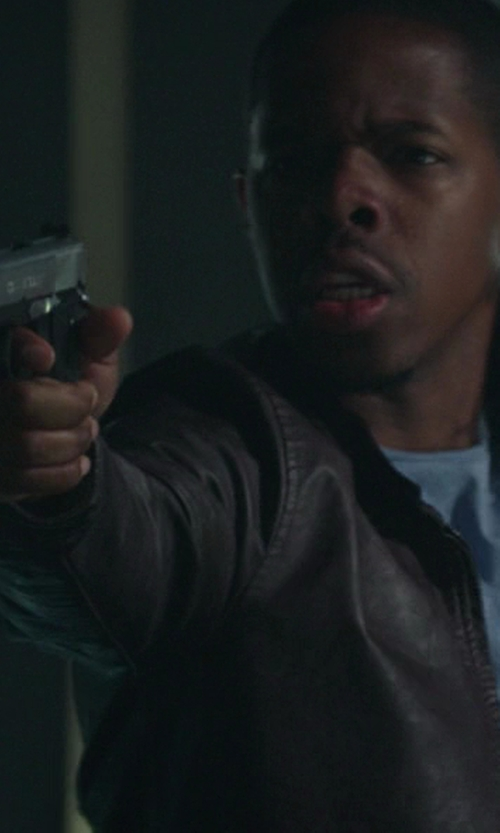 Omari Wallace with SIG Sauer P226 in Ride Along