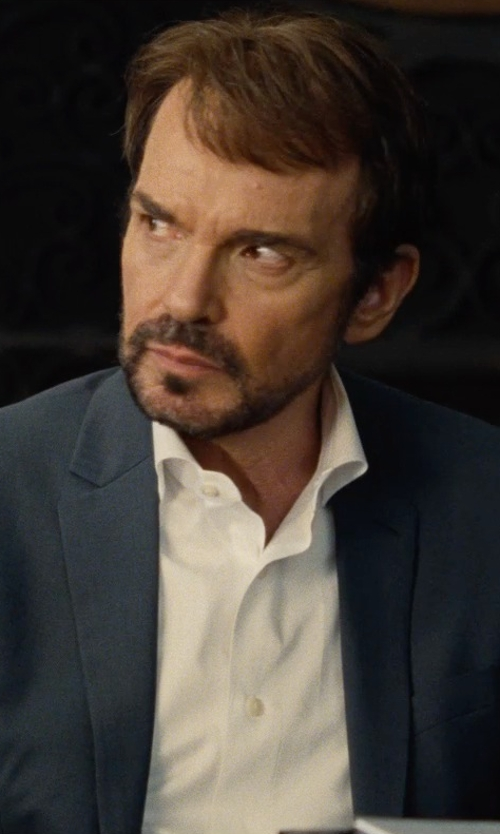 Billy Bob Thornton with Dolce & Gabbana Cotton-Blend Shirt in Entourage