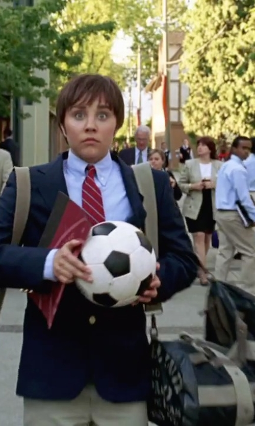 Amanda Bynes with Mi-Pac Classic Duffle Bag in She's The Man