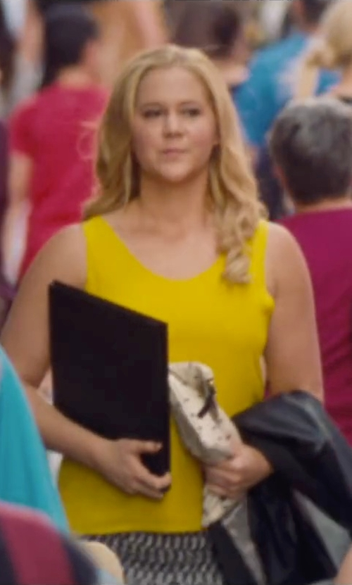Amy Schumer with Love Moschino Mini Skirt in Trainwreck