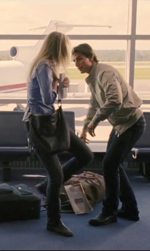 Cameron Diaz with Coach Ali Hobo Bag in Knight and Day