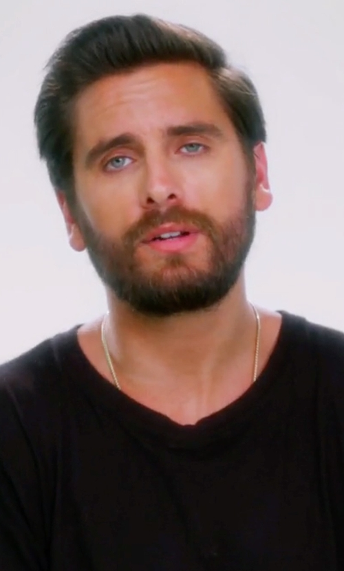 Scott Disick with John Elliott LS Mercer T-Shirt in Keeping Up With The Kardashians
