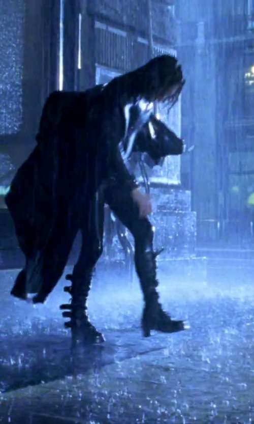 Kate Beckinsale with Frye Valerie Belted Tall Boots in Underworld