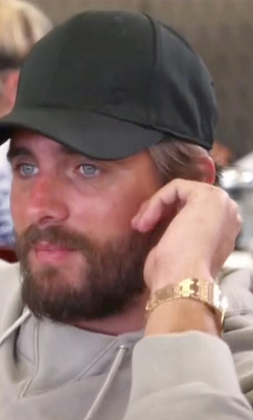 Scott Disick with Rolex Daytona Gold Bracelet Watch in Keeping Up With The Kardashians