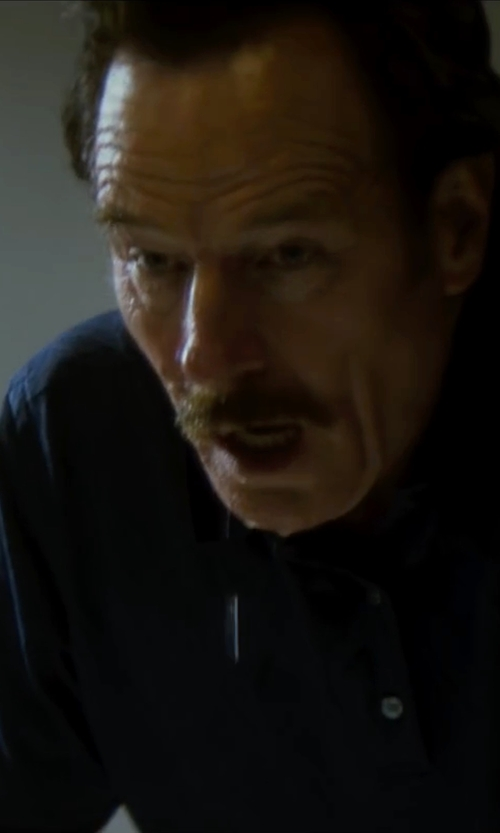 Bryan Cranston with Andrea Fenzi Polo Shirt in The Infiltrator