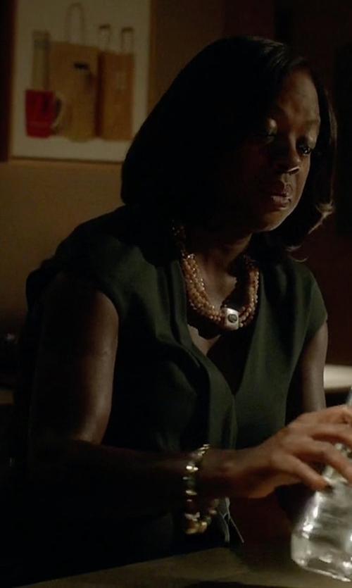 Viola Davis with Ashley Pittman Ekundu Bracelet in How To Get Away With Murder
