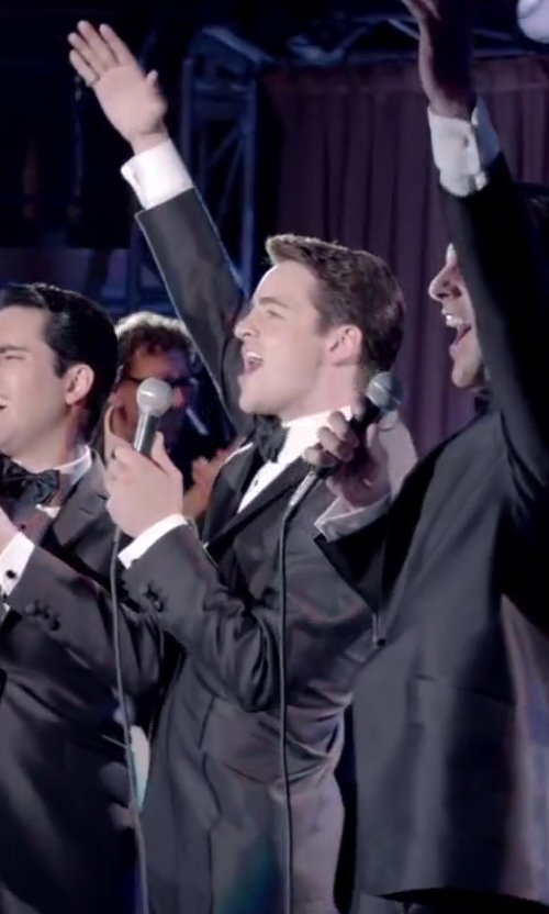 Vincent Piazza with Brioni Formal Bow Tie in Jersey Boys