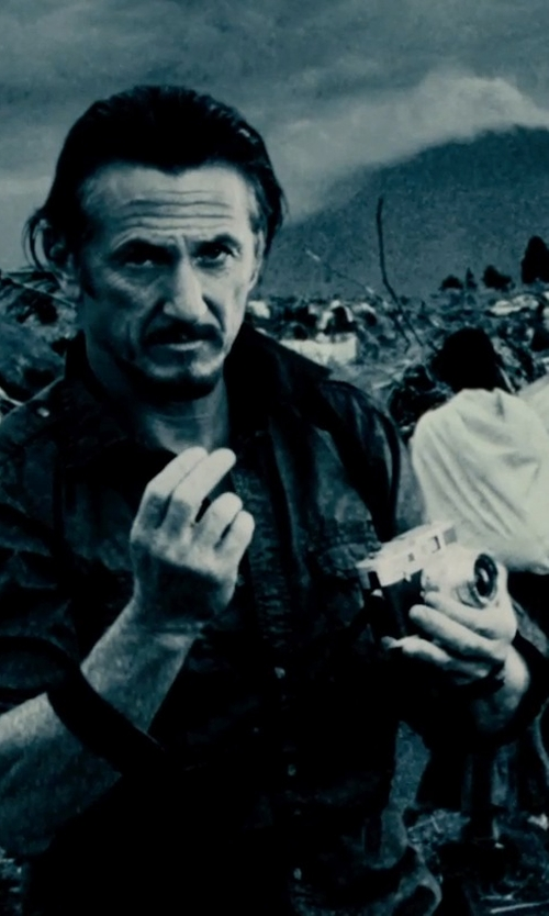 Sean Penn with Nikon F3/T-Titanium Camera in The Secret Life of Walter Mitty