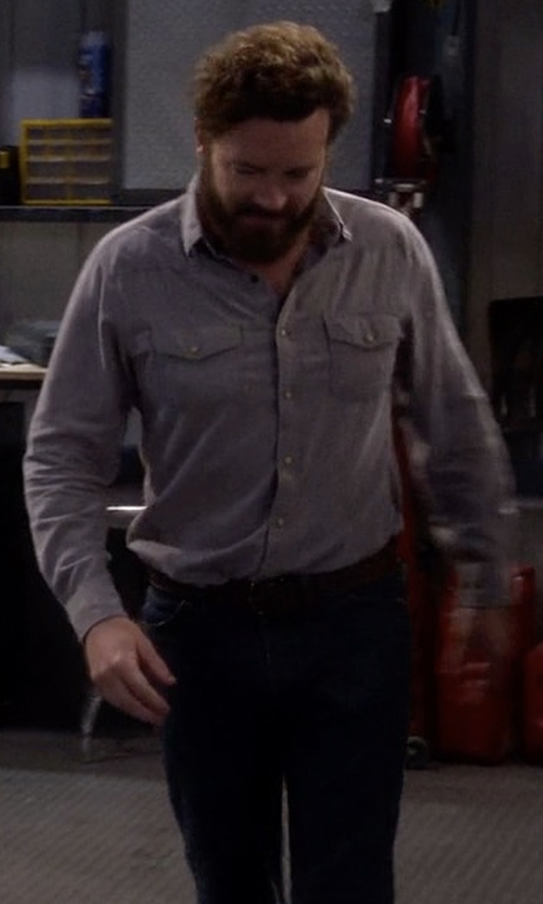 Danny Masterson with Levi's Alturas Belt in The Ranch