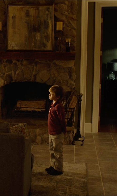 Jacob Tremblay with School Issue Semester Leather Shoes in Before I Wake