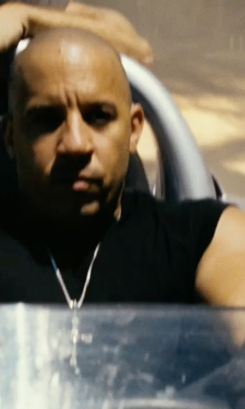 Vin Diesel with Aston Leather Top-Stitched Gloves in Fast Five