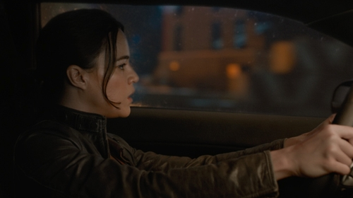 Michelle Rodriguez with Matchless Osborne Blouson Jacket in The Fate of the Furious