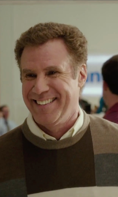 Will Ferrell with Ike Behar	 Tonal Textured Dress Shirt in Daddy's Home