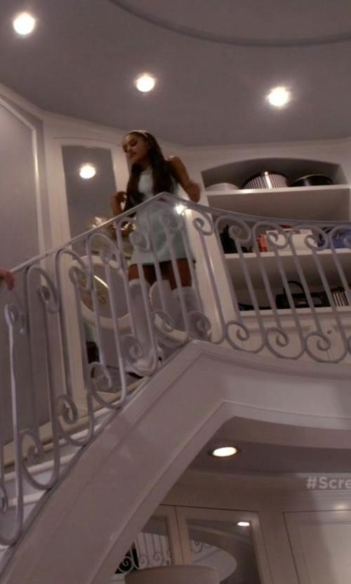 Ariana Grande with Saint Laurent Janis Platform Pumps in Scream Queens