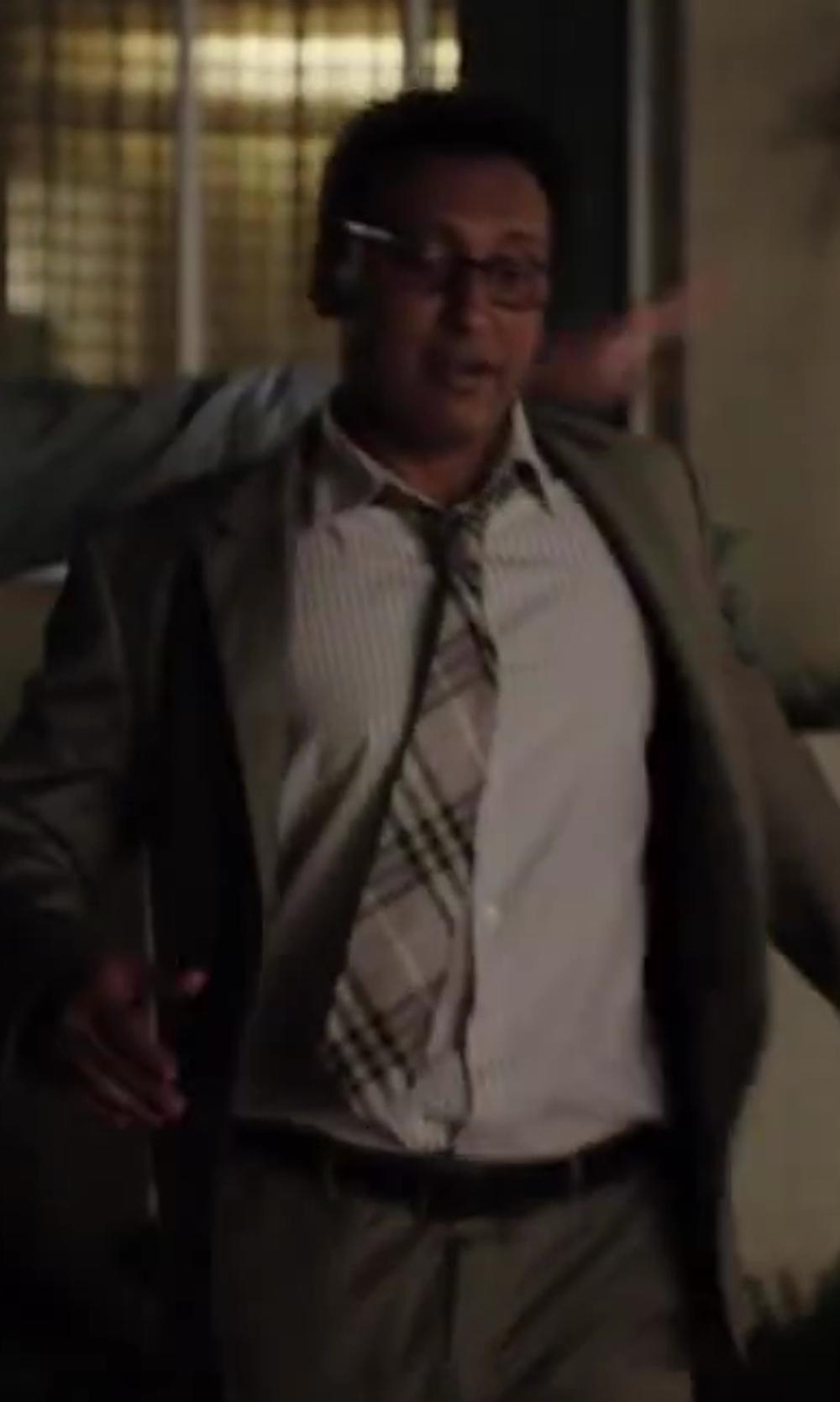 Aasif Mandvi with Brioni Calf Leather Noblesse Belt in Million Dollar Arm