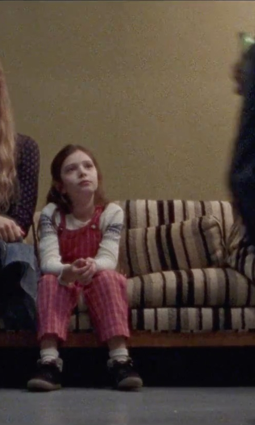Makenzie Moss with Ralph Lauren Toddler's & Little Girl's Cabled Cotton Cardigan in Steve Jobs