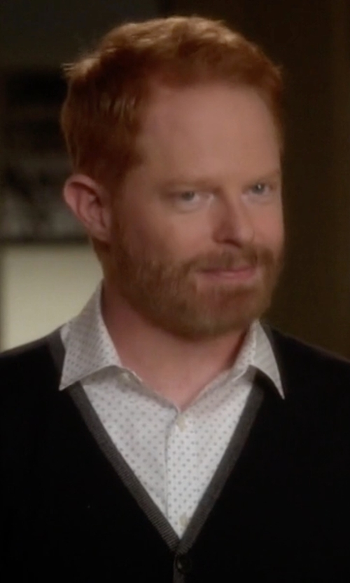 Jesse Tyler Ferguson with Brian Dales Polka Dot Shirt in Modern Family