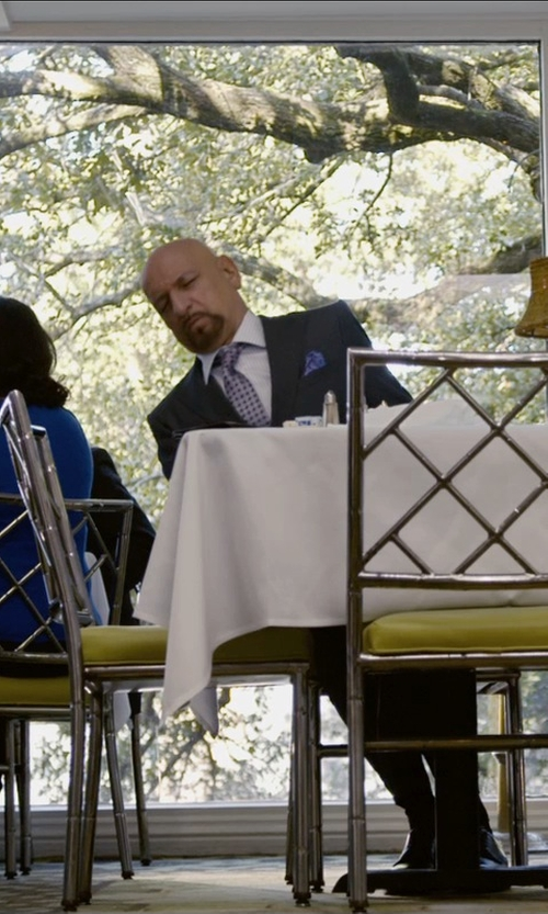 Ben Kingsley with Barneys New York Twill Pocket Square in Self/Less