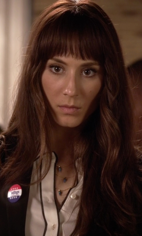 Troian Bellisario with Lionette by Noa Sade Avish Necklace in Pretty Little Liars