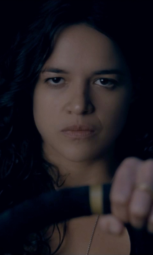 Michelle Rodriguez with Only Hearts Women's So Fine with Lace Tank Tunic in Fast & Furious 6