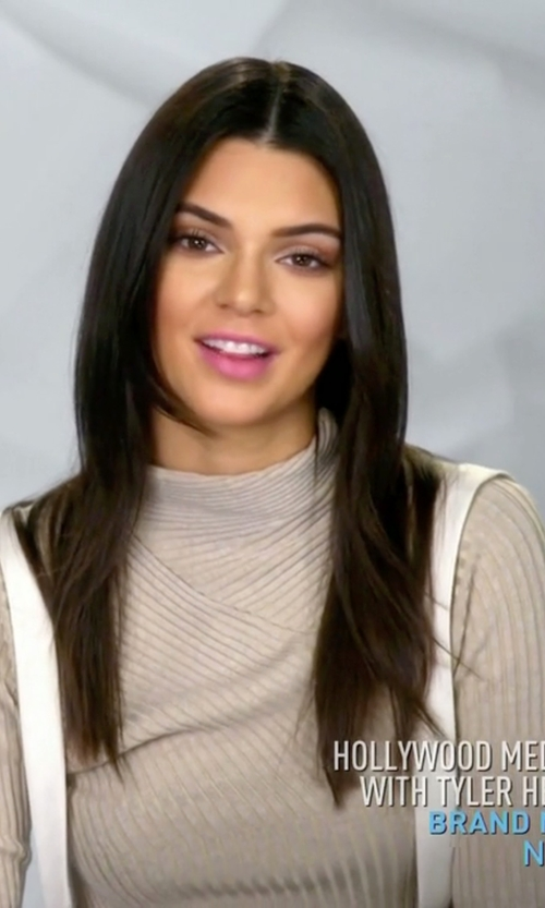 Kendall Jenner with Acne Studios Aline Rib Top in Keeping Up With The Kardashians