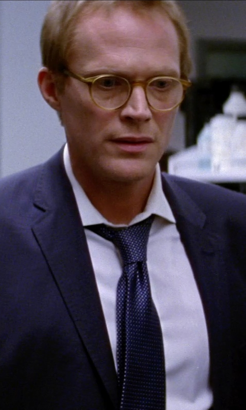 Paul Bettany with OLIVER PEOPLES O'MALLEY RX Olive Tortoise in Transcendence