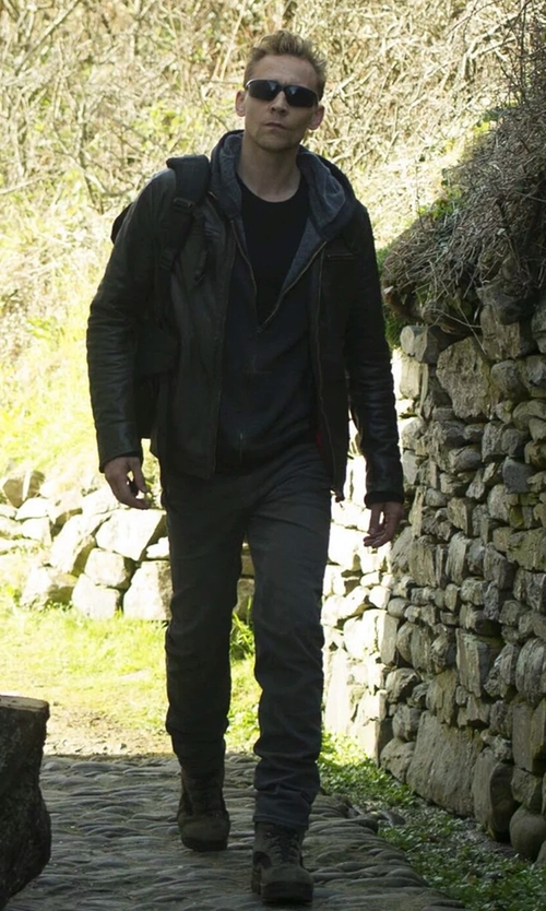 Tom Hiddleston with Lowa Men's Renegade GTX Mid Hiking Boots in The Night Manager