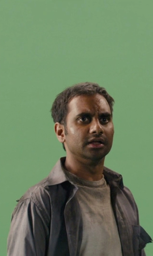 Aziz Ansari with Gant Rugger Luxury Oxford Shirt in Master of None