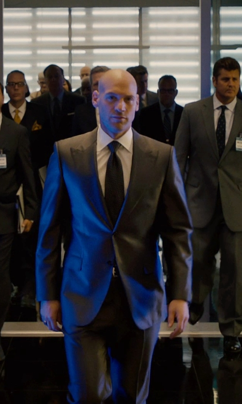 Corey Stoll with Lanvin Grosgrain Solid Tie in Ant-Man