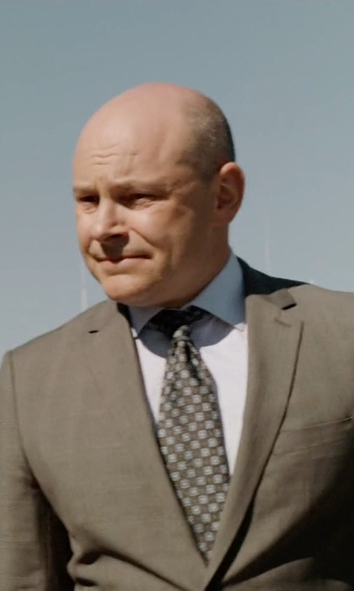 Rob Corddry with Paul Smith Exclusive Poplin Dress Shirt in Ballers