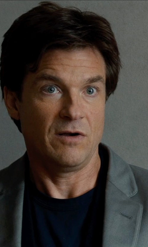 Jason Bateman with GENTS Basic Short Sleeve Crew Neck T- Shirt in This Is Where I Leave You