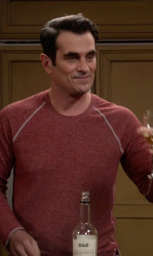 Ty Burrell with Diesel Serge Sweatshirt in Modern Family