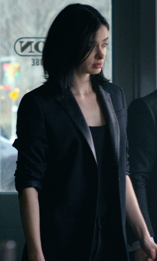 Krysten Ritter with Bailey 44 Michele Jacket in Jessica Jones