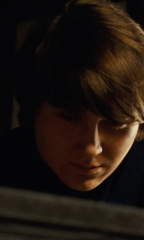 Paul Dano with Jil Sander Cotton-Jersey T-Shirt in Love & Mercy