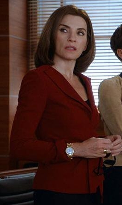 Julianna Margulies with J.Crew Rhodes Blazer In Italian Wool in The Good Wife