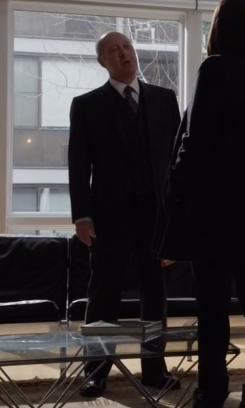 James Spader with Cole Haan 'Warren' Cap Toe Derby Shoes in The Blacklist