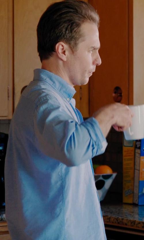 Sam Rockwell with Marin White Mug in Laggies
