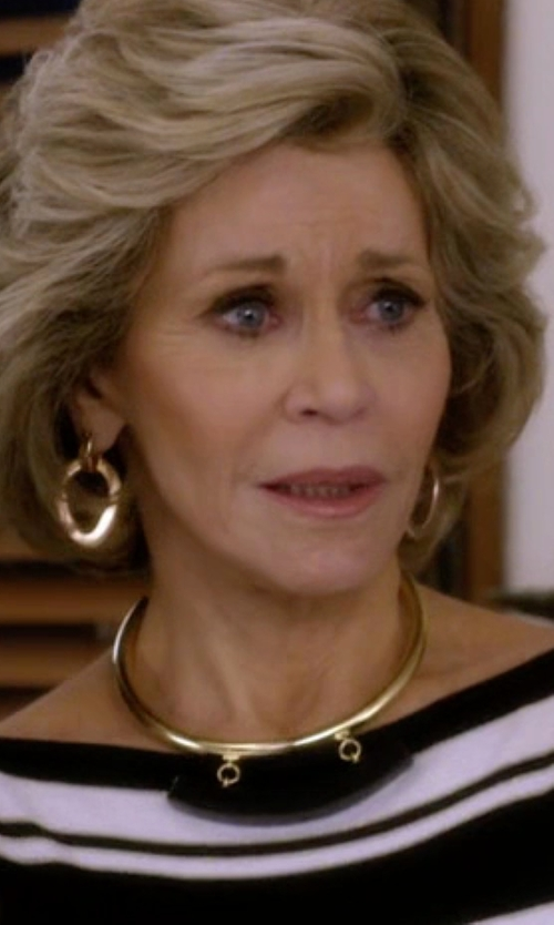 Ben-Amun Collar Necklace in Grace and Frankie