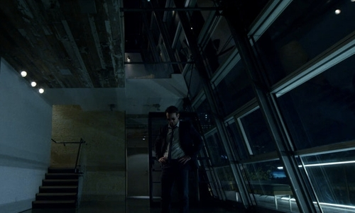 Charlie Cox with Sky House Condominium New York City, New York in Daredevil