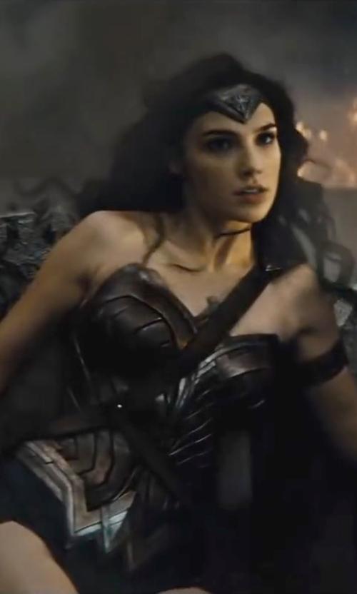 Gal Gadot with Michael Wilkinson (Costume Designer) Custom Made 'Wonder Woman' Costume (Diana Prince) in Batman v Superman: Dawn of Justice